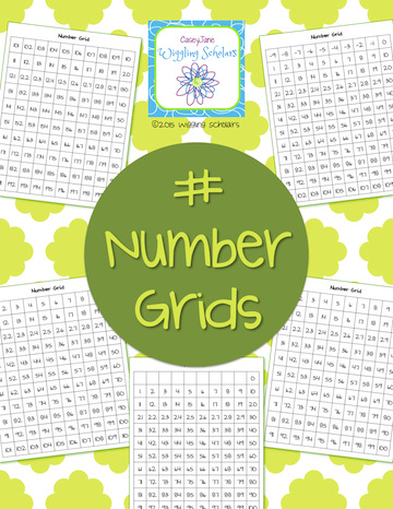 Number Grids by Wiggling Scholars
