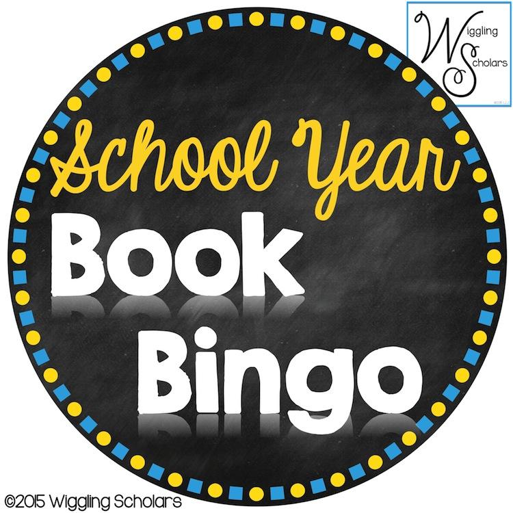 School Year Book Bingo by Wiggling Scholars