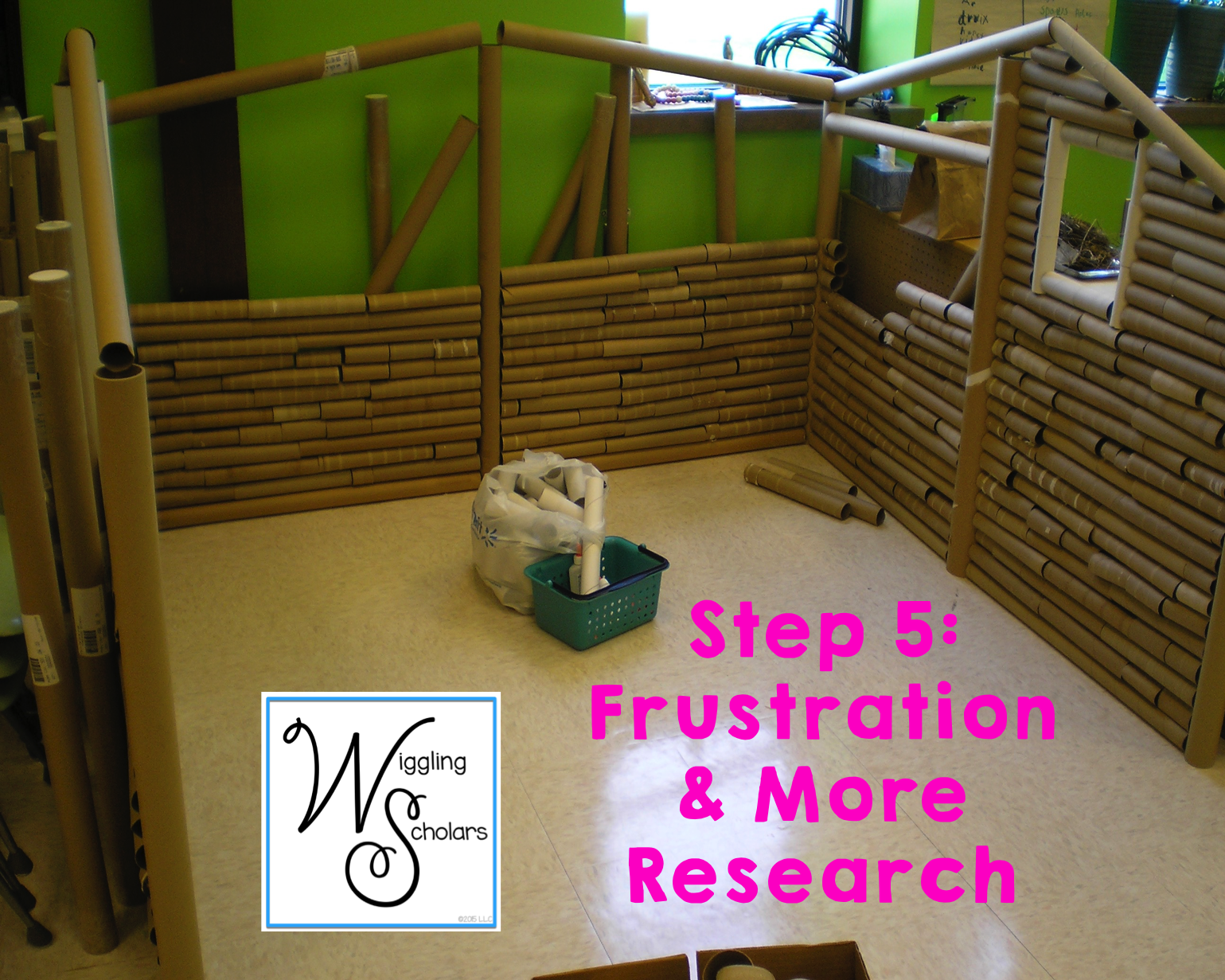 STEM Step 5: Frustration and More Research