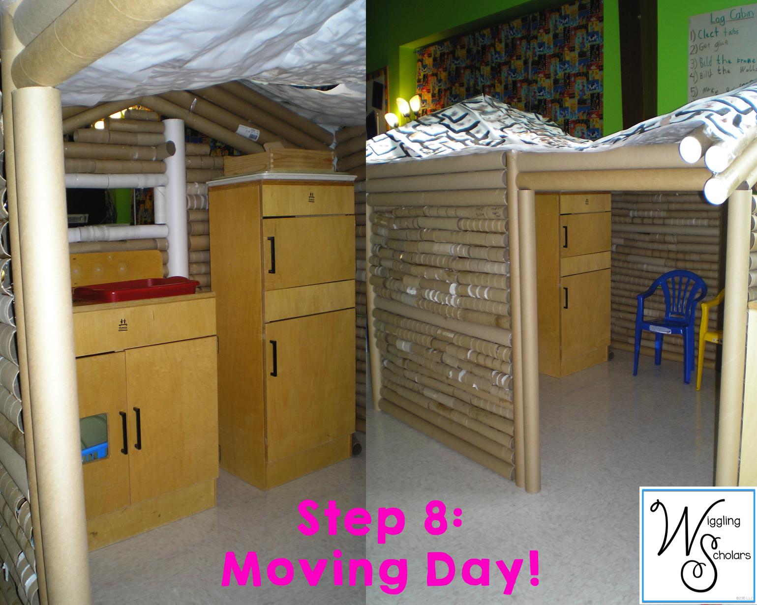 STEm Step 8: Moving Day!