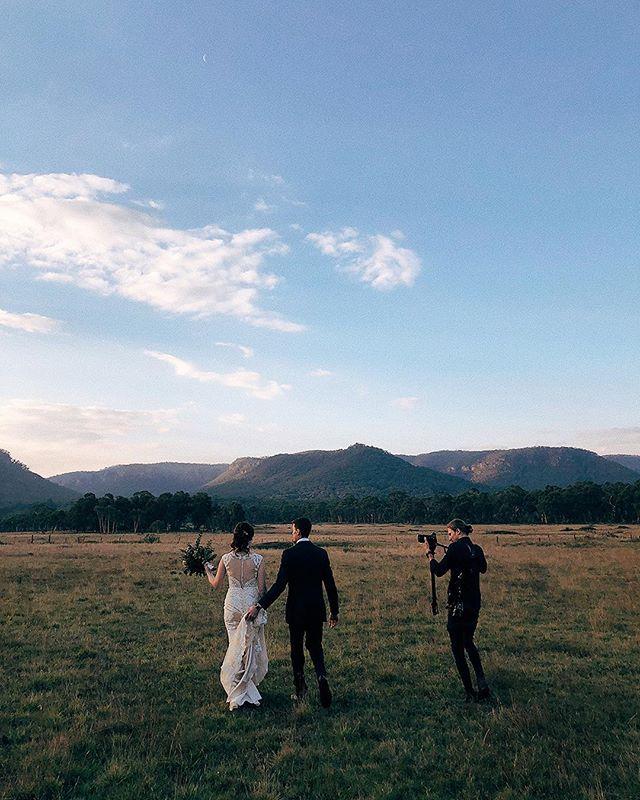 Behind the scenes of Dan working his magic at @ashleighpersian & @robertpersian wedding at the beautiful @collitsinn