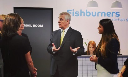 The Duke of York visited our co-working space this week. Nothing like a touch of royalty to get the week off to a good start.