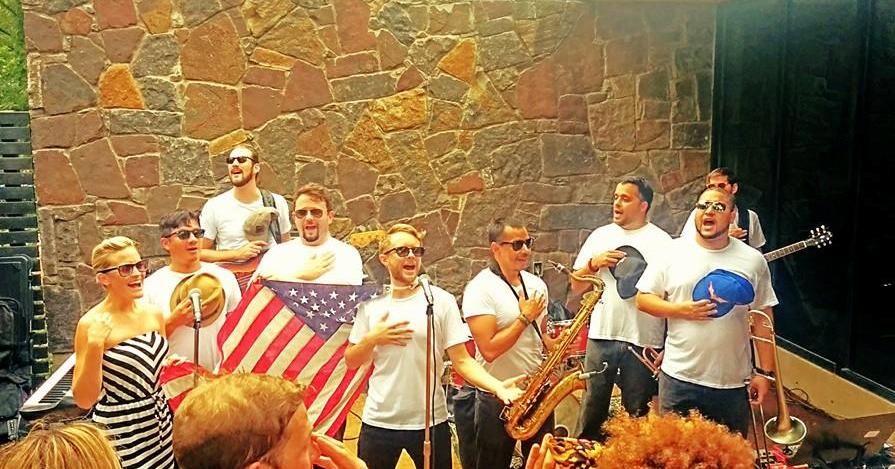 NIGHTOWLS singing the National Anthem