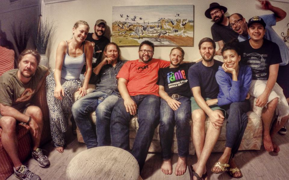 Entire crew for Muscle Shoals trip