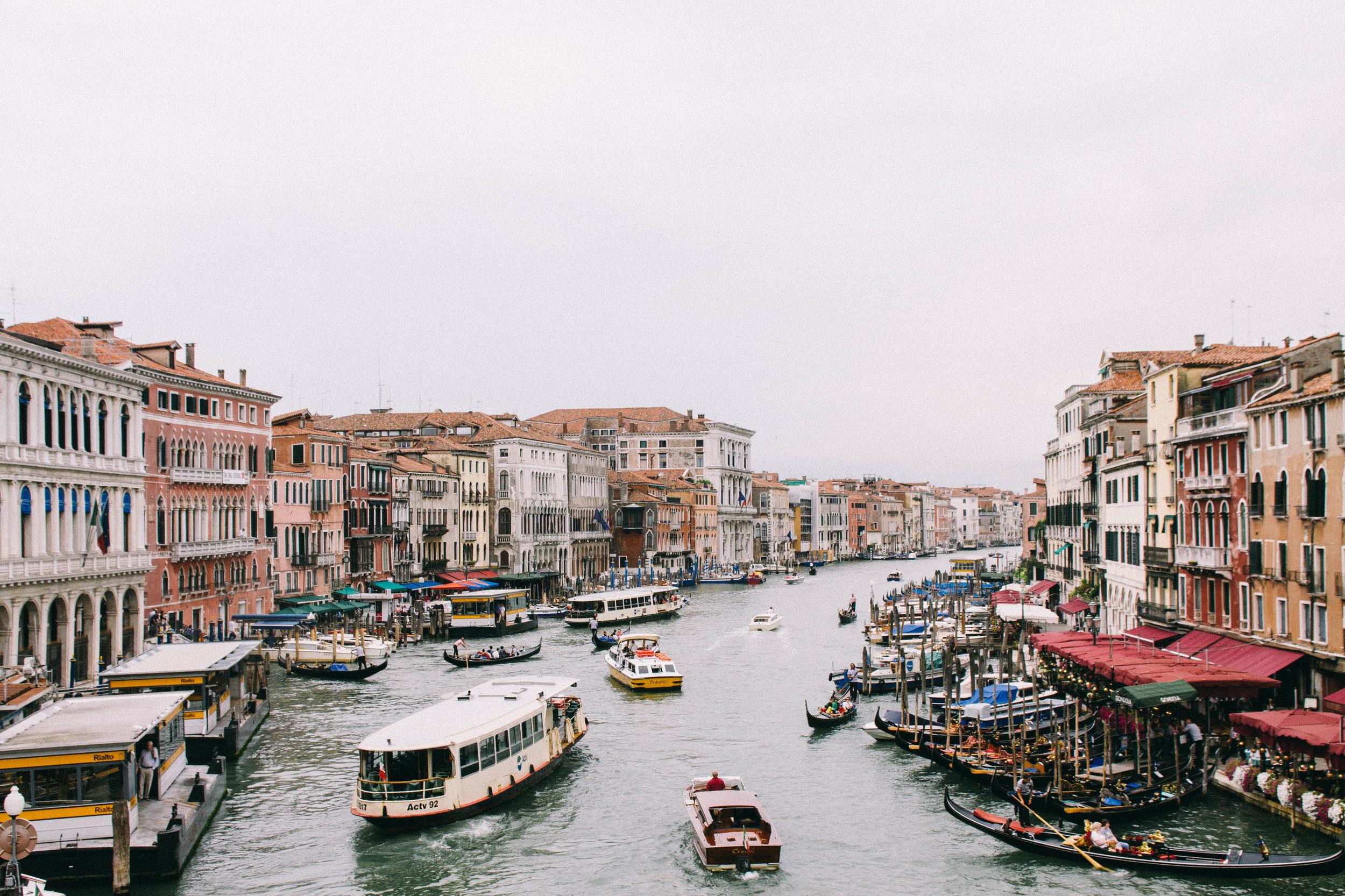 Venice Italy Canal Travel