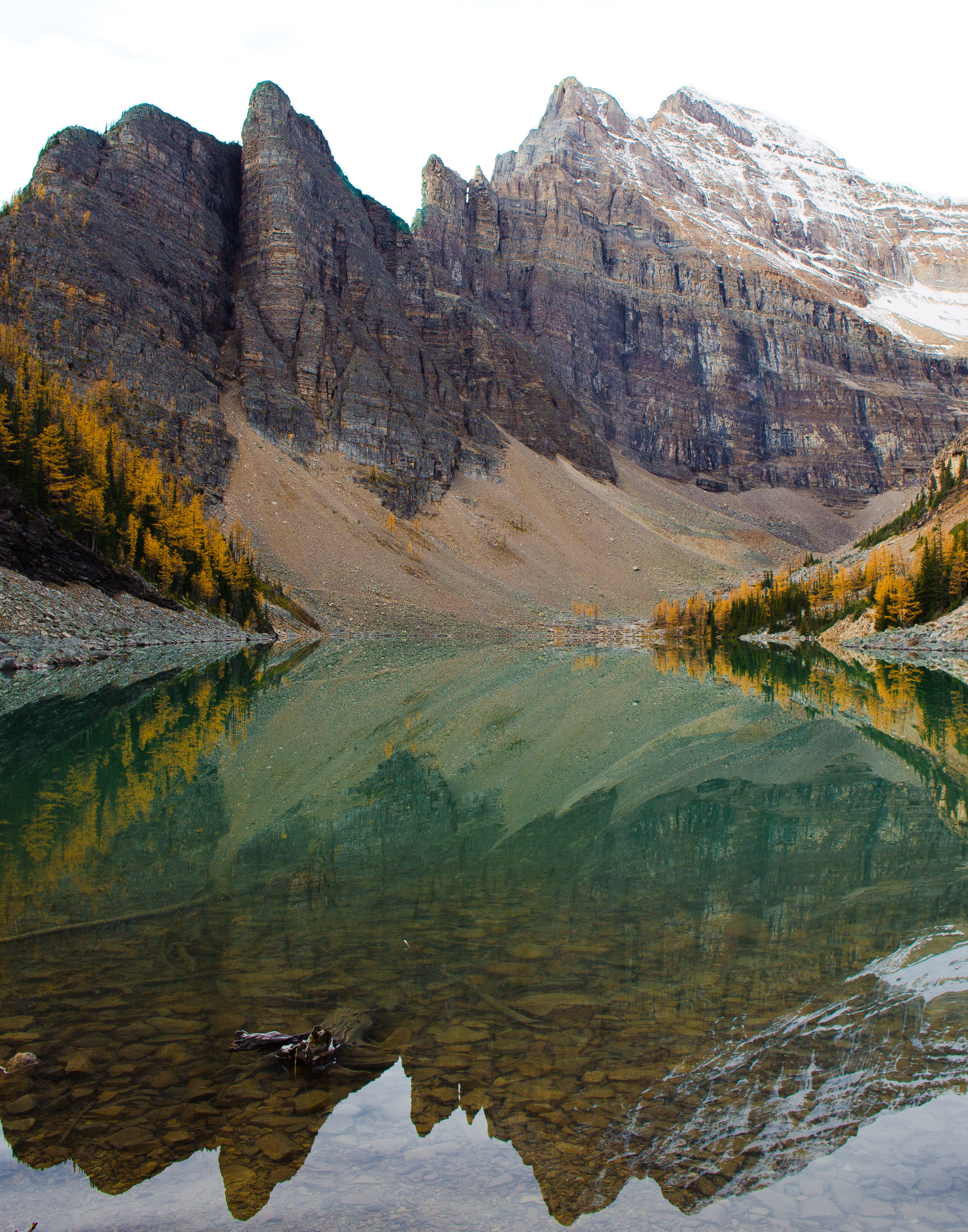 Lake Agnes Reflections