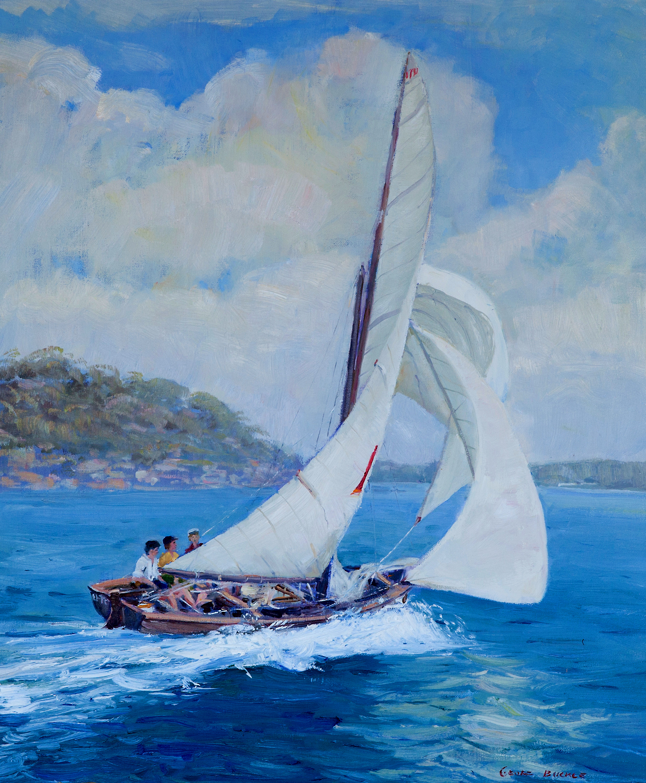 16ft Skiff Sailing Sydney Harbour