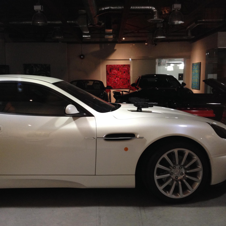 Bond Car on display