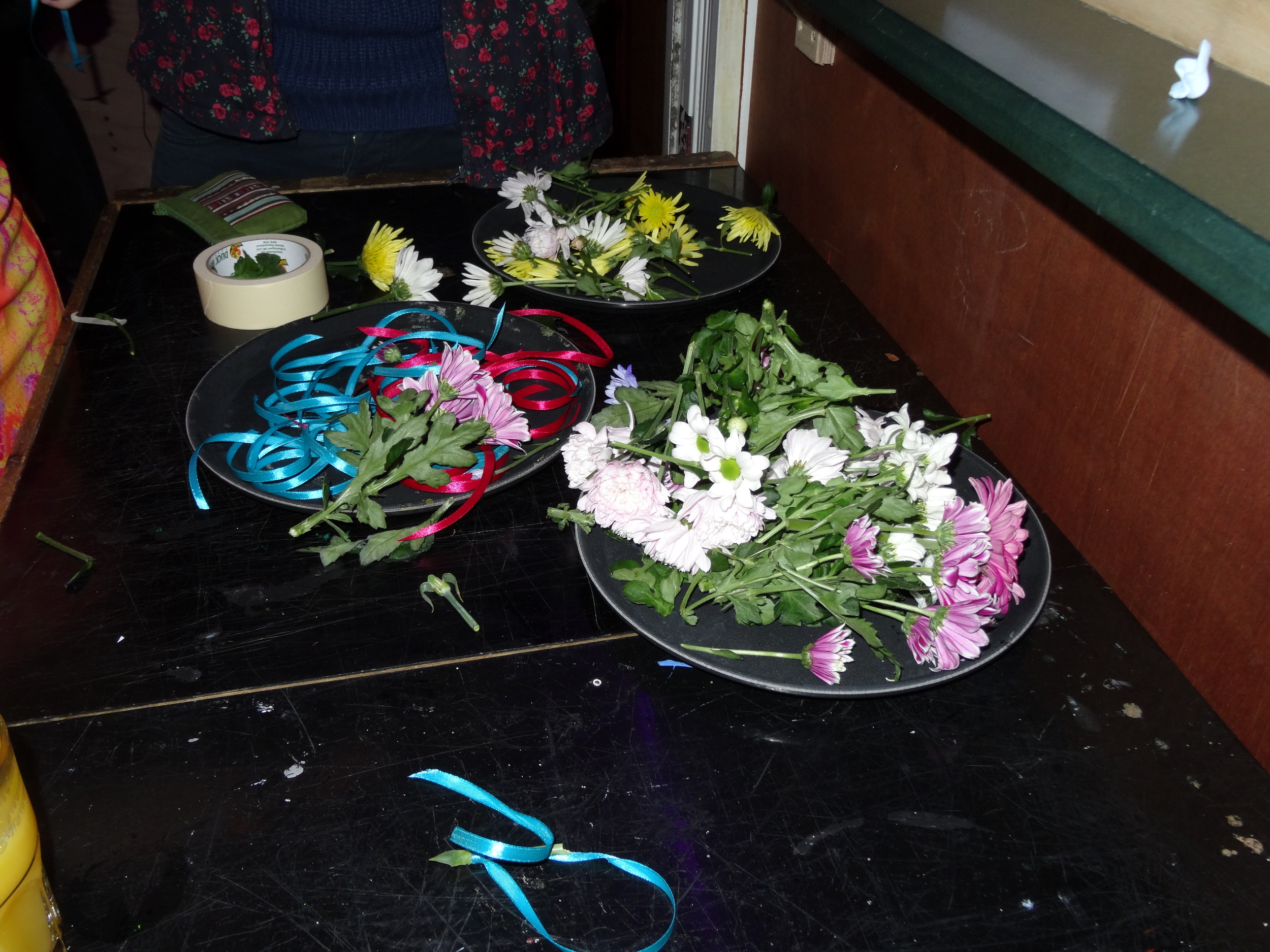 Flower corsages