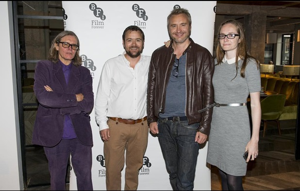 From left: Stephen Woolley, Neil Maskell, Gerard Johnson & Joanna Laurie