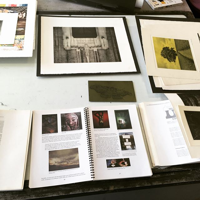 Great workshop yesterday for FdA photography and Lens-based media students with Dr Paul Thirkell. Spent the day looking at the #photogravure process making some lovely prints #UCW #creativearts #filmandmediaarts #lensbased #popmusic #musicproduction #performanceandproduction #graphicdesign #contemporaryartstudies #musicaltheatre #performingarts #commercialdance #photography #gamesandanimation