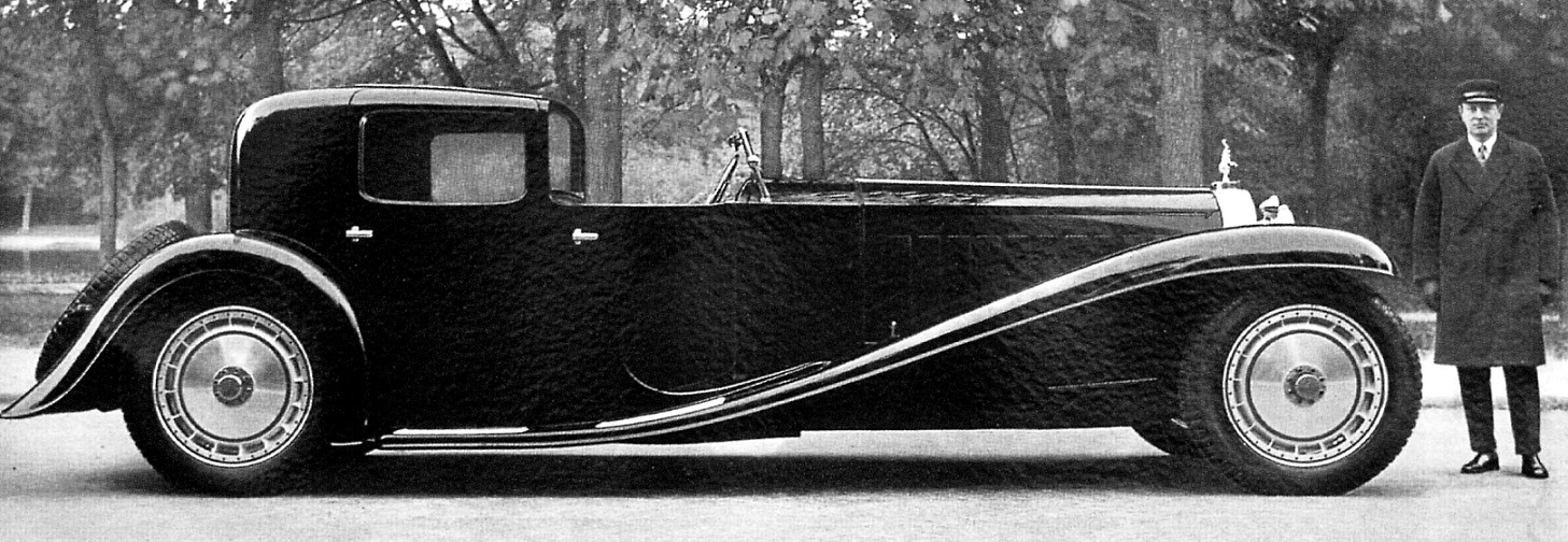Bugatti Royale Napoleon Exact Replica created by AKVR for the Donnington Collection