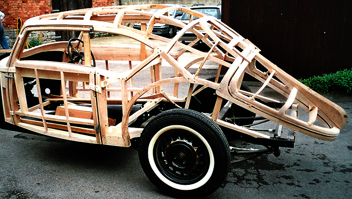 Delage D8 New Body Frame