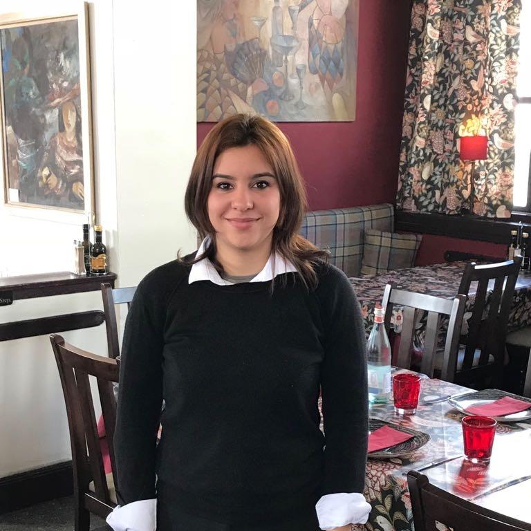 Gabriella Formica Dining room staff, 2018