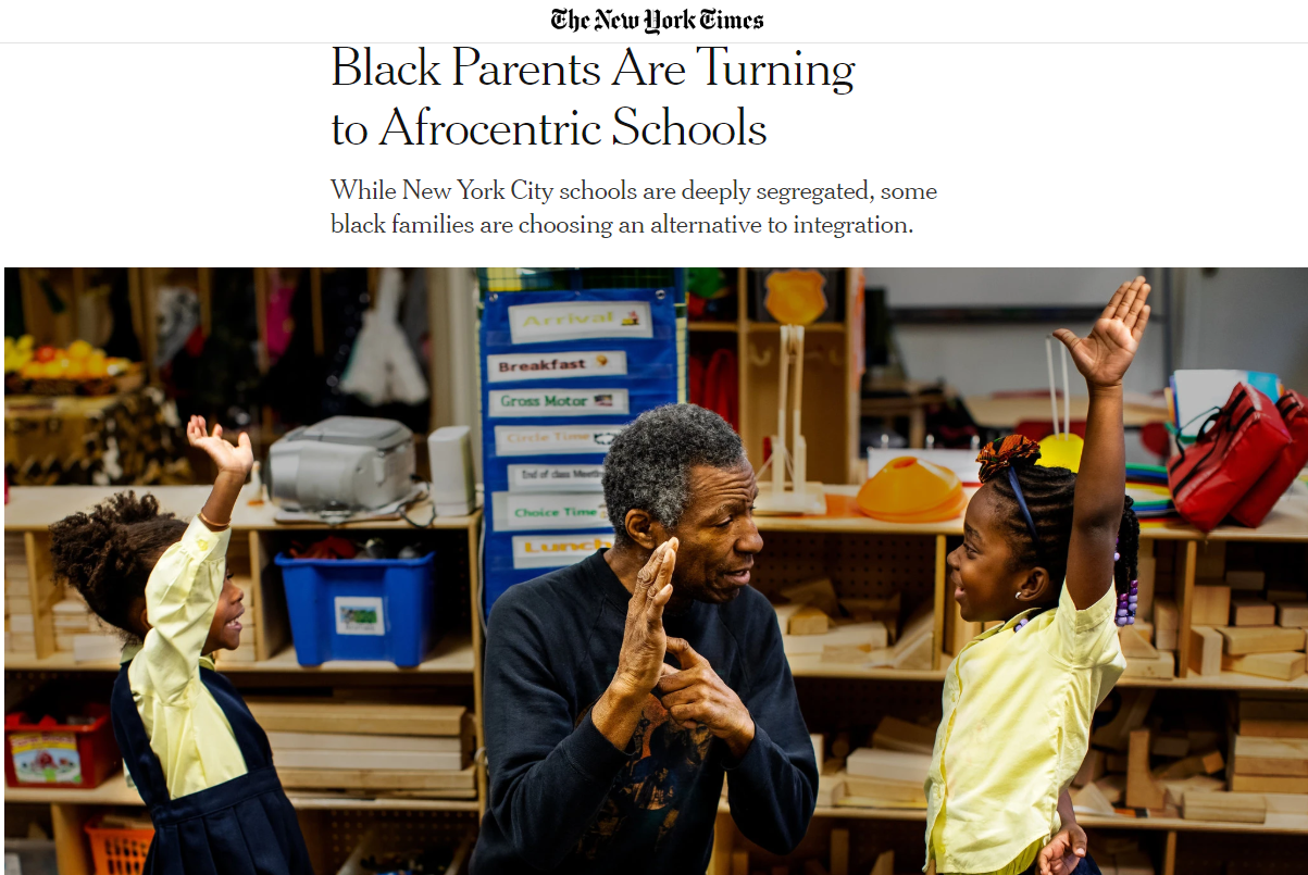 This article was published in the New York Times in January 2019