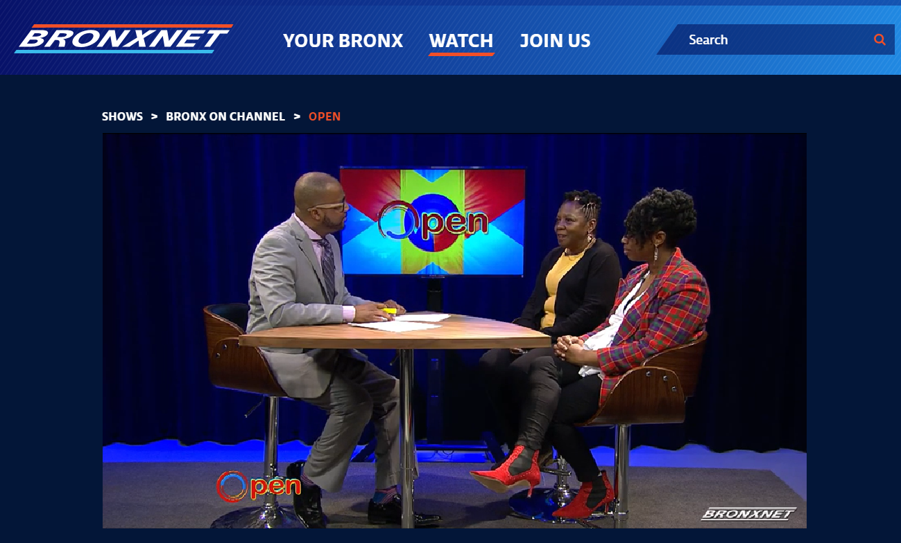 Little Sun People Director Fela Barclift along with Board Director Kara Benton-Smith were profiled on Bronxnet