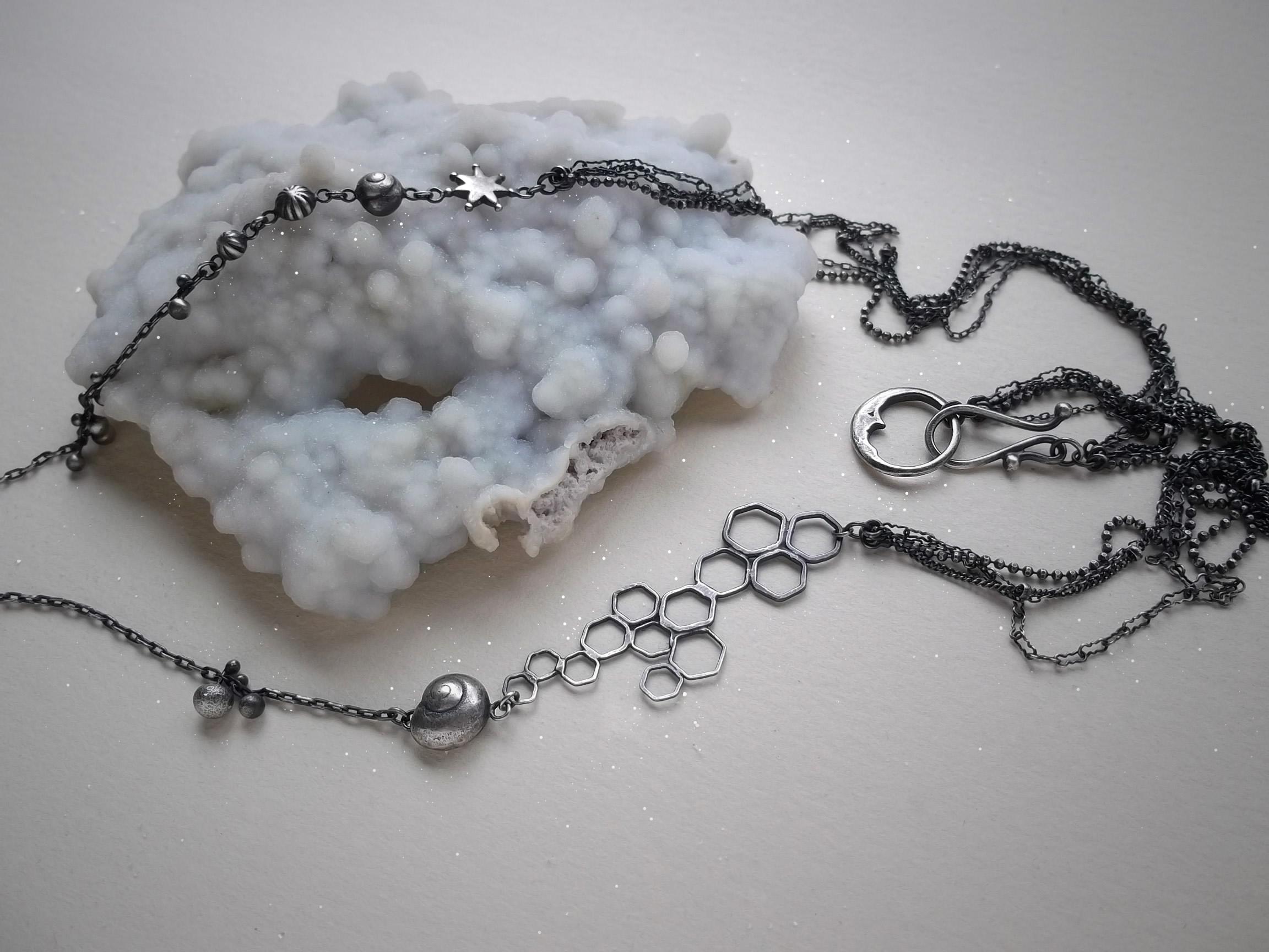 Rabbit Necklace detail