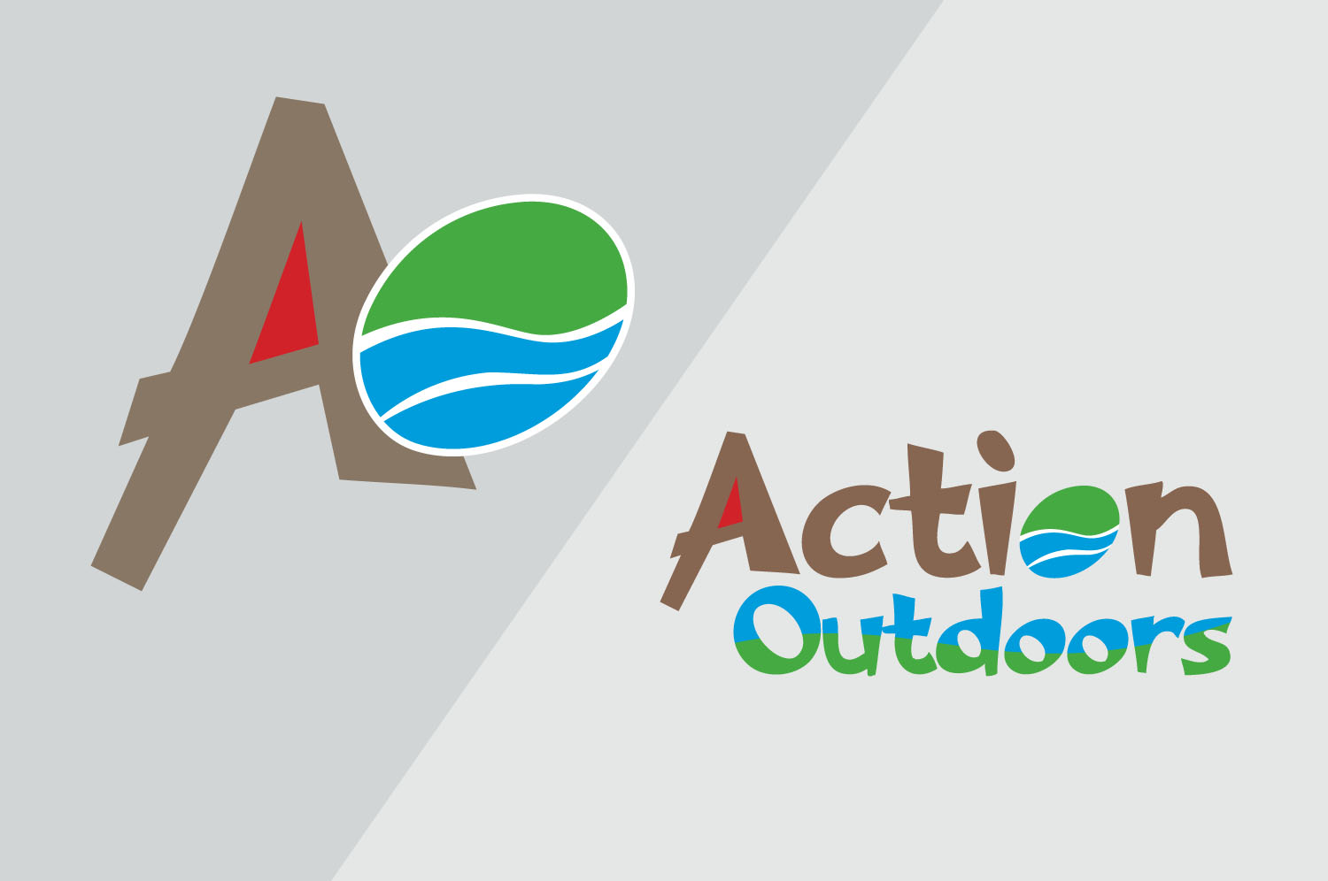 Brand design for Action Outdoors, Co. Down