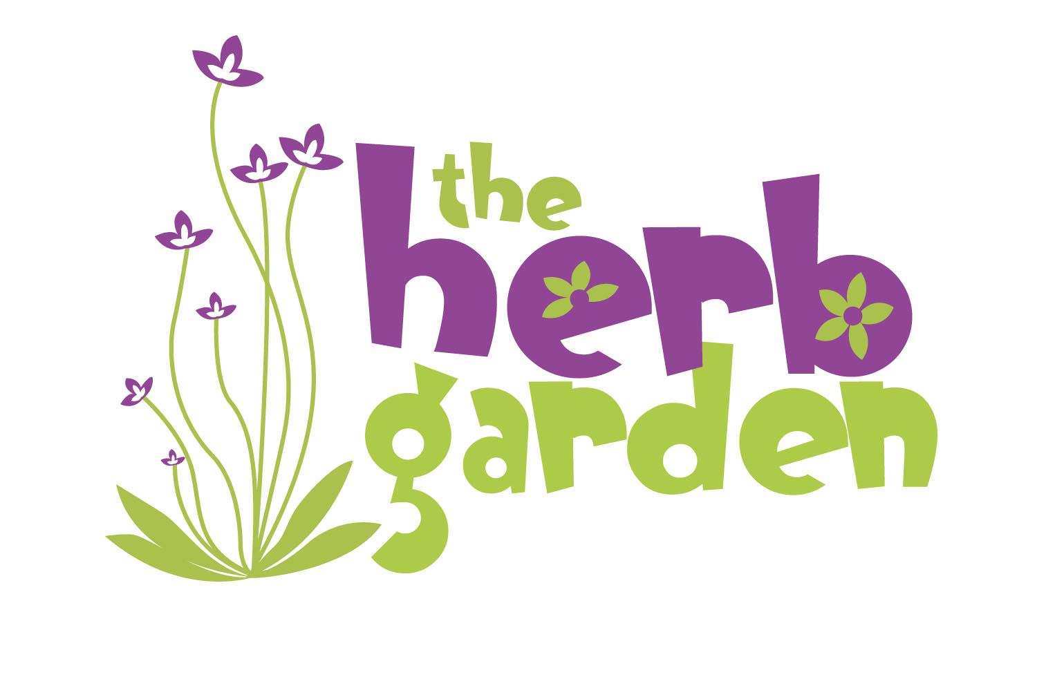 Brand identity design for the herb Garden, Co. Down