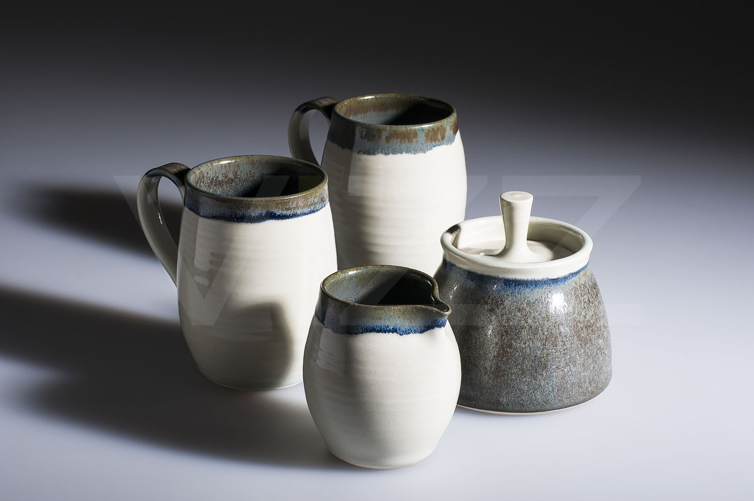 Tea set by Alison Hanvey -  completing the set we photographed a while ago.