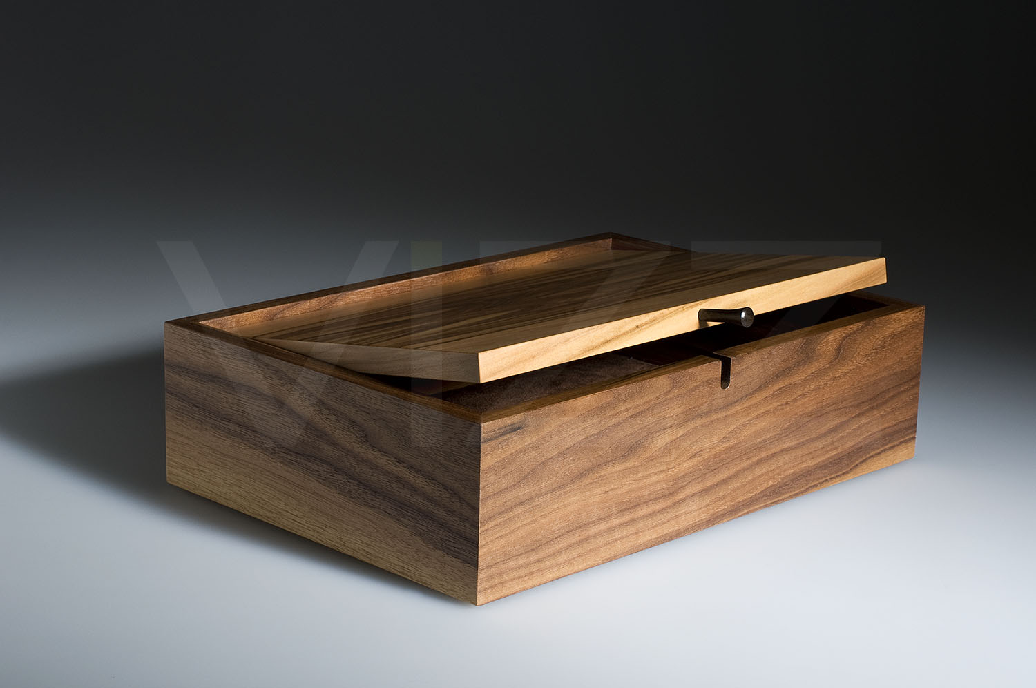 Jewellery box by Mark Hanvey - we photographed another version of this box a while ago - still a pleasure to see and photograph.