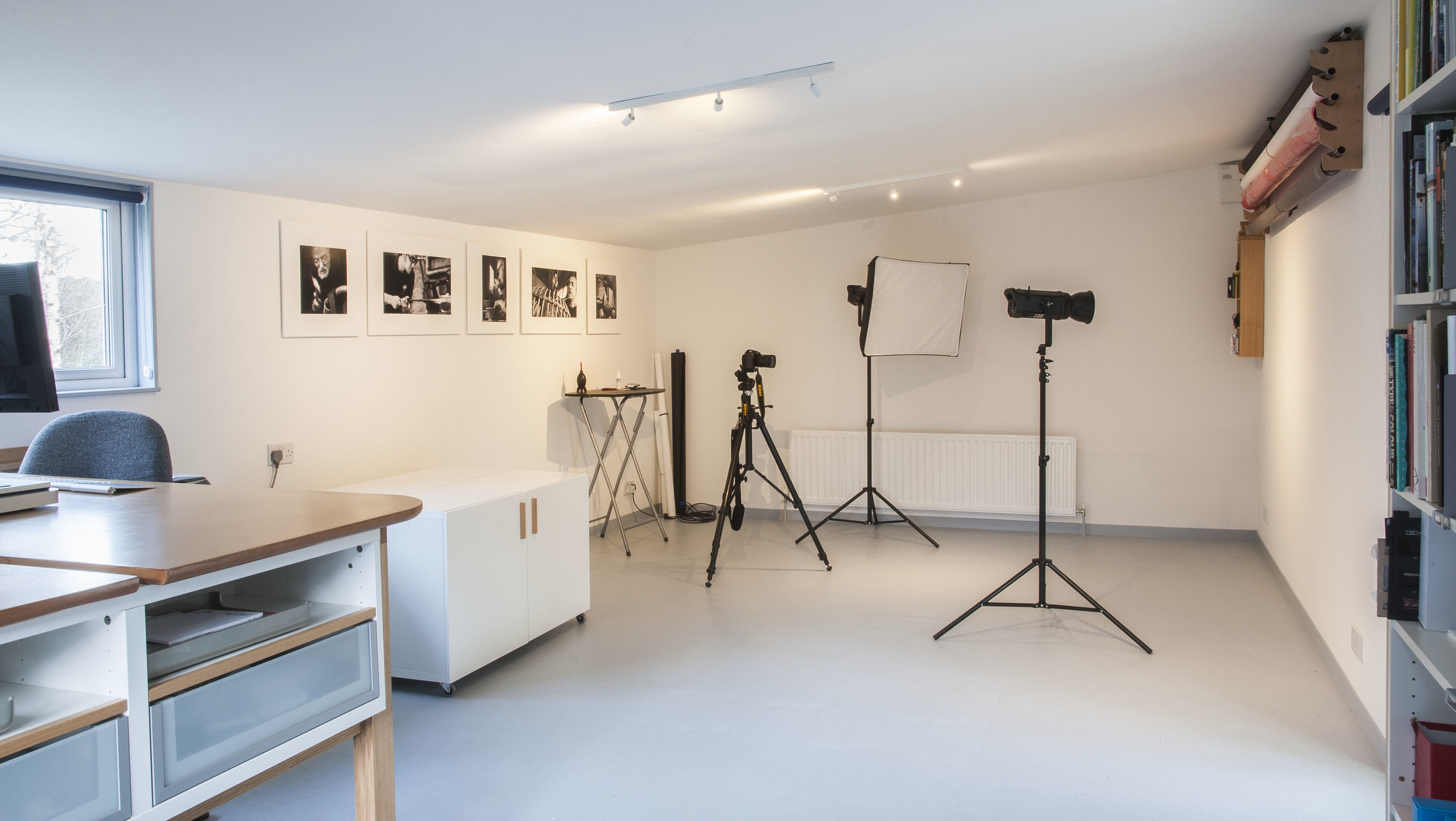 Vizz Creative's new photographic studio