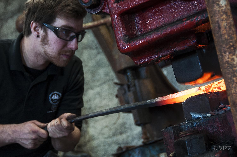 Aaron Leach - Artist blacksmith