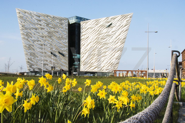 Titanic center in spring