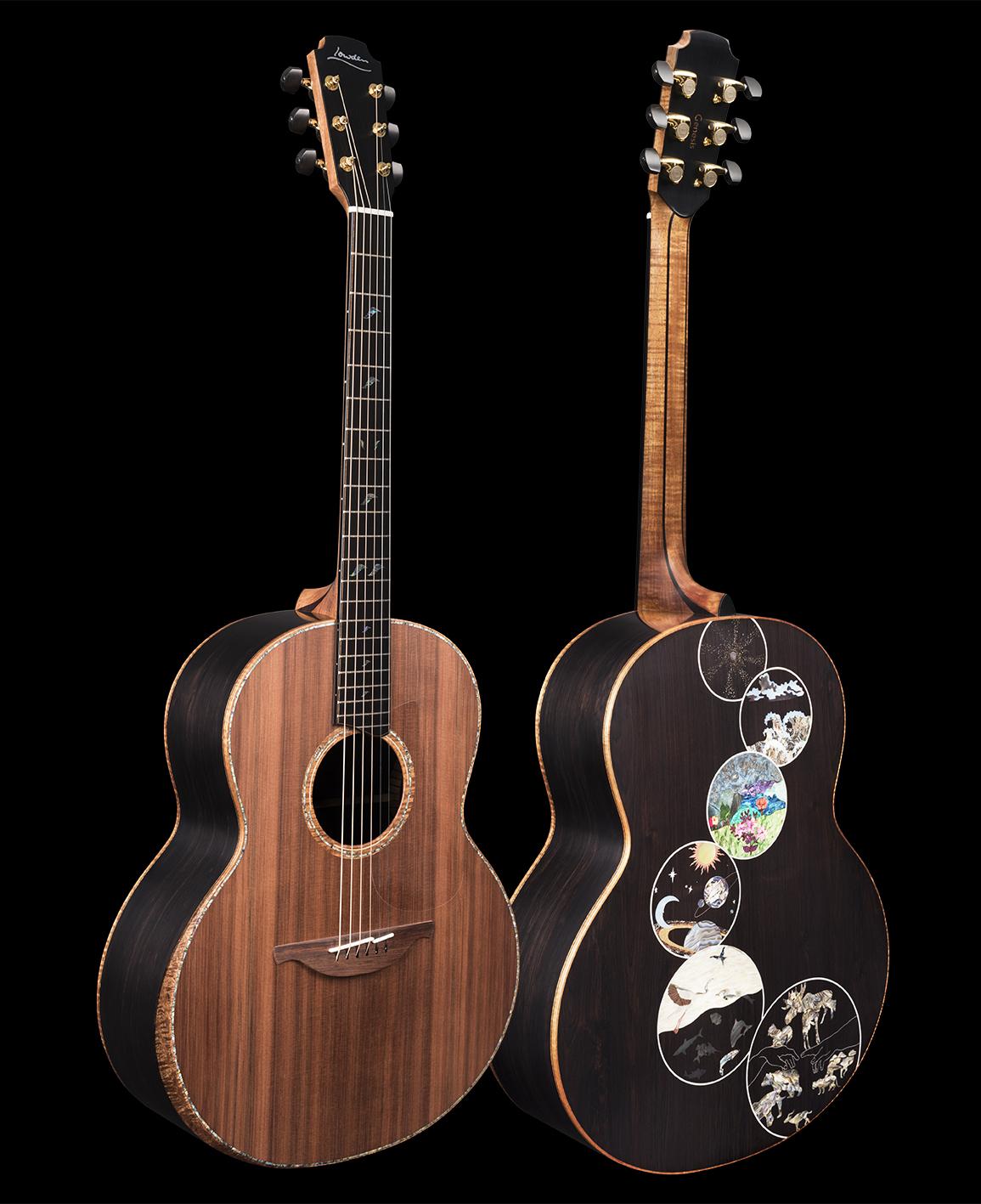 Lowden 'Genesis' guitar photographed by Vizz Creative