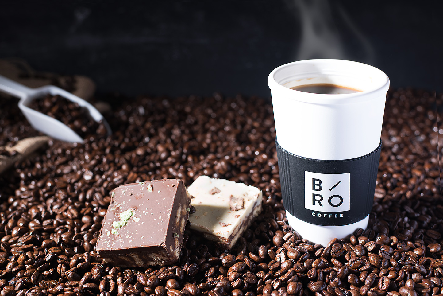 Branding photography for Bro Coffee