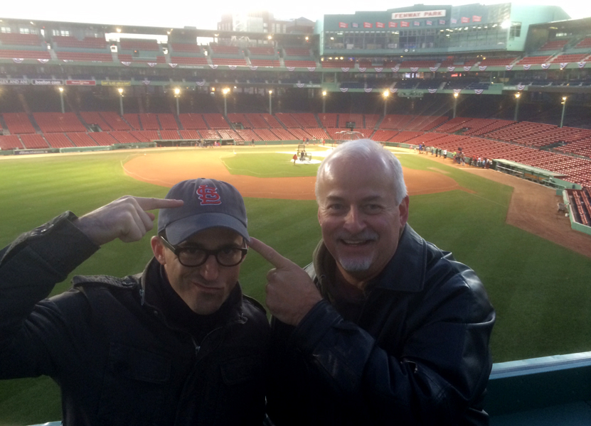 Representing MO on the Green Monster.