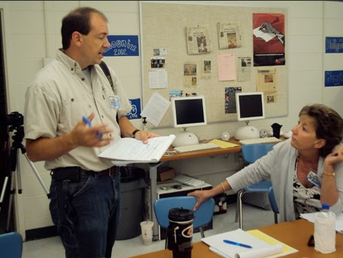 """Camp STN began in 2000, and it is now the """"ASB Workshop."""" Teachers helping teachers."""