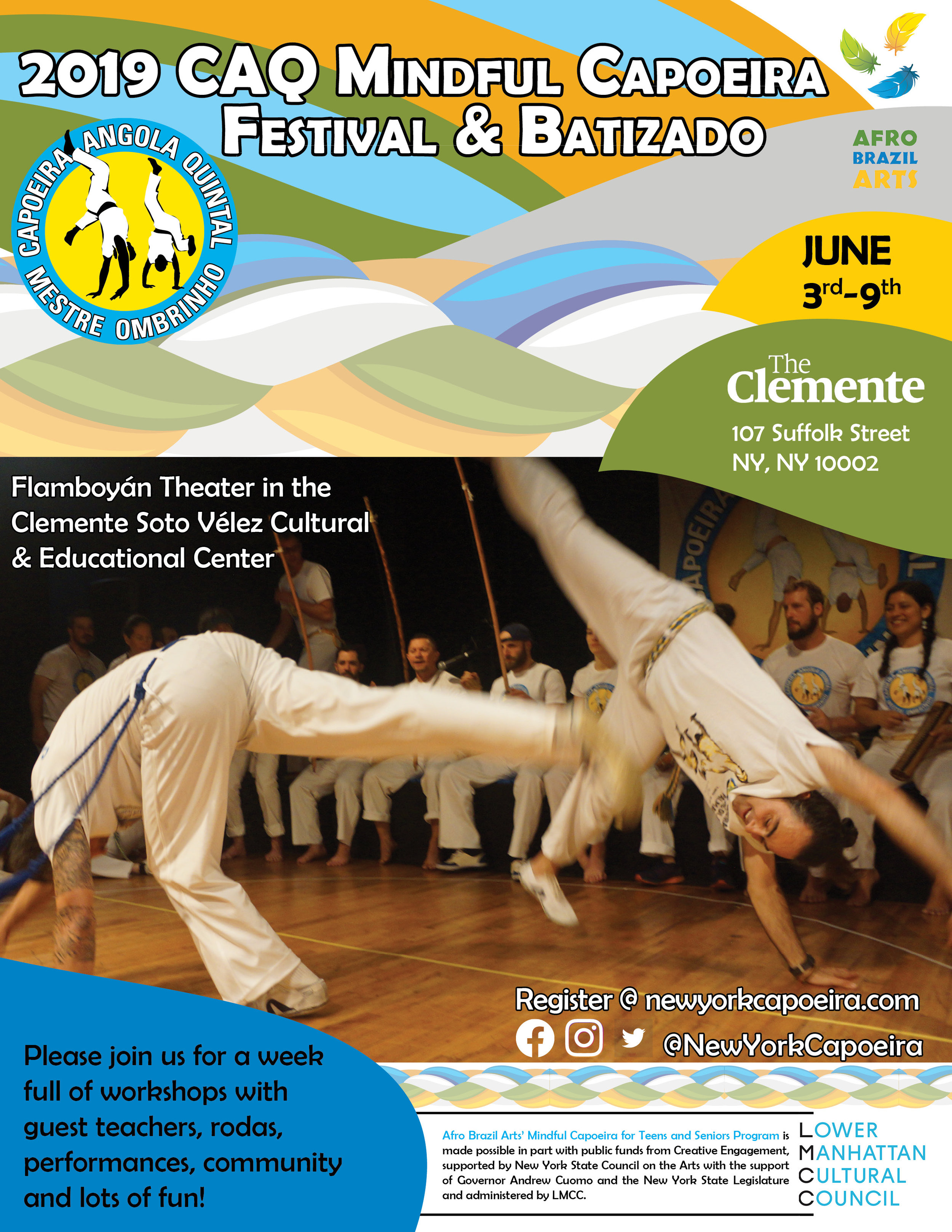 Events — New York Capoeira Center