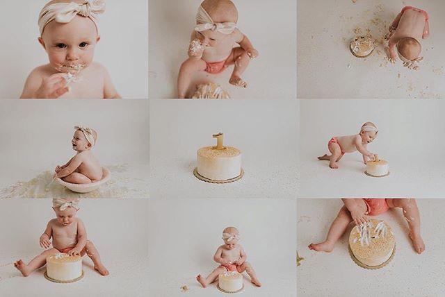Cake party. 💕 #cakesmash #oneyearsold #oneyearsession #wmphoto