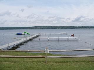 New Docks and raft, Camp Merz 2005