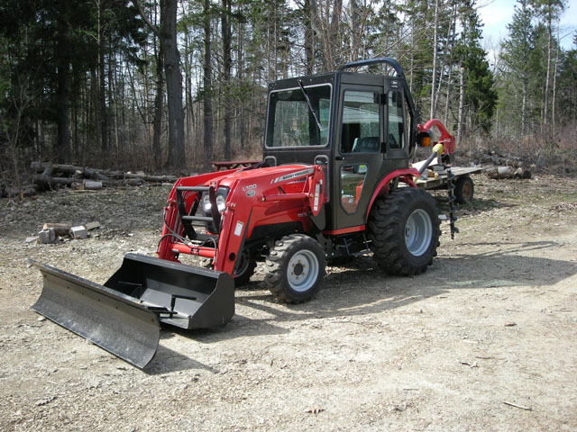 New Tractor, Camp Merz 2008