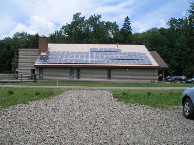 New Roof Dawson Training Center 2007