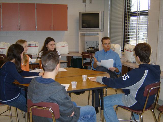 Jr. Achievement Interviews, Falconer High School