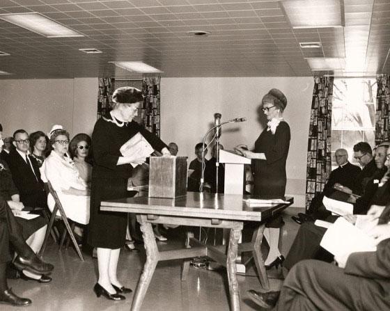 "WCA ""C Wing"" Addition Dedication, 1965"