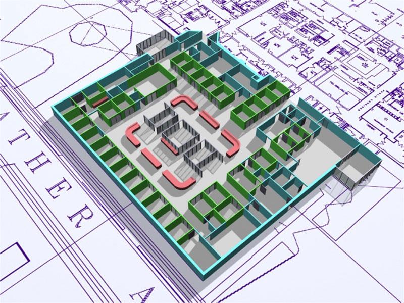 WCA Proposed Emergency Department Floor plan, 2007