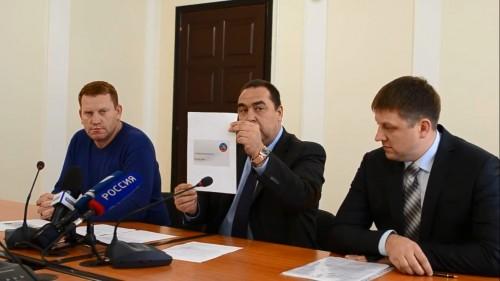 А тут, пресс-конференция для российских телезрителей, те кто собственно оплачивает создания этой карточки и остальных бед в Украине. А вы до сих пор думаете, что ваши налоги идут на оброзование и медобслуживане??? Ну ну.