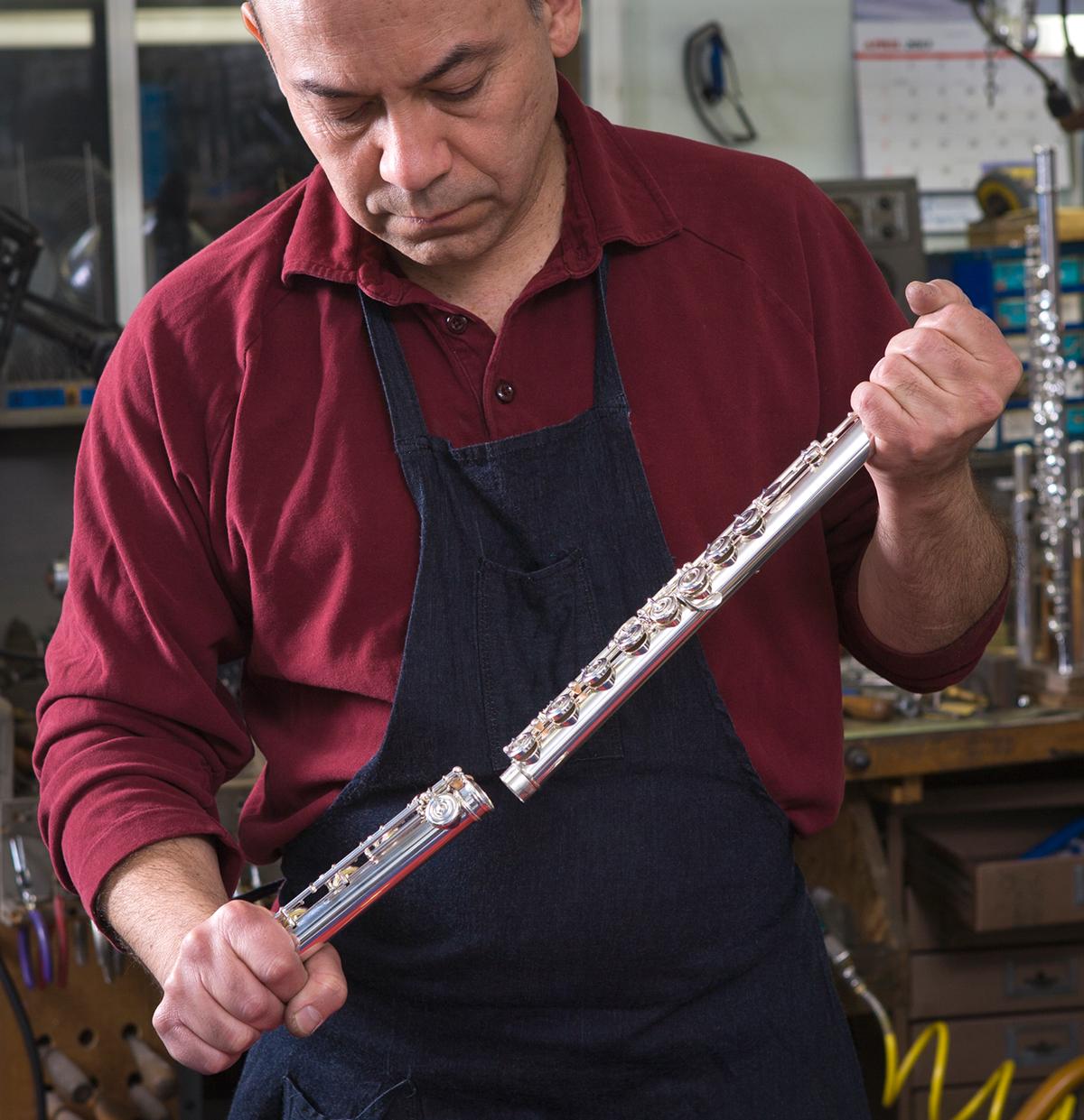 Juan Arista, Master Flute Maker