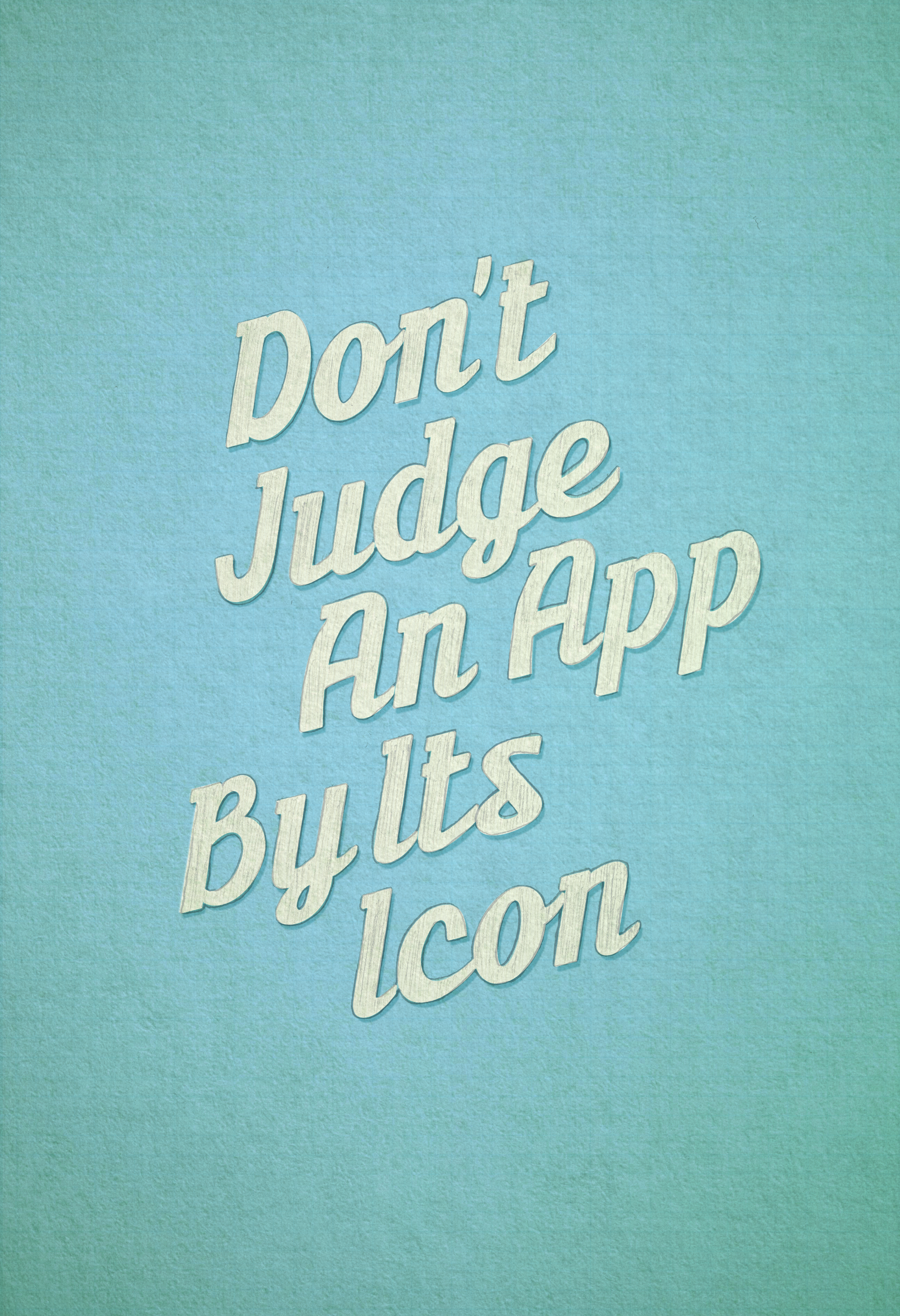 Don't Judge an App by Its Icon