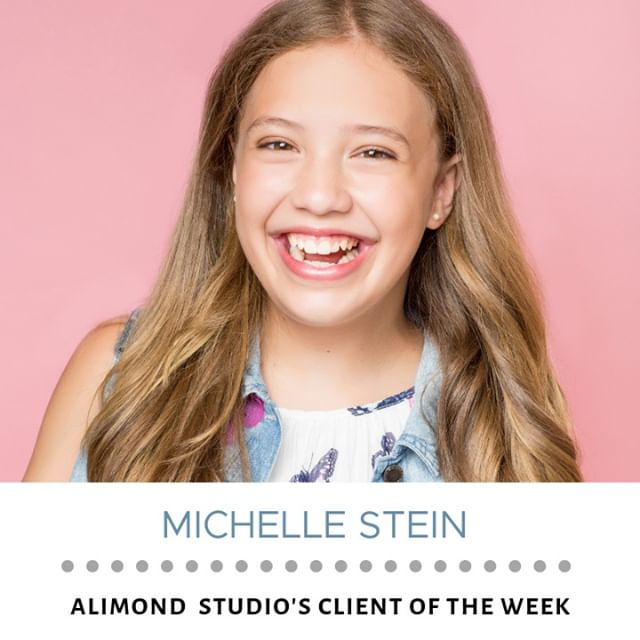 Our client of the week is Michelle Stein! Michelle is an actress. You can tell by the twinkle in her eyes that she is meant to be a star. Michelle is living proof that you're never too young to pursue your dreams and start working toward long-term goals. How old were you when you realized what you wanted to do with your life? Do you believe in destiny?⠀⠀⠀⠀⠀⠀⠀⠀⠀ ⠀⠀⠀⠀⠀⠀⠀⠀⠀ .⠀⠀⠀⠀⠀⠀⠀⠀⠀ .⠀⠀⠀⠀⠀⠀⠀⠀⠀ .⠀⠀⠀⠀⠀⠀⠀⠀⠀ #girlboss #womeninbusiness #empoweringwomen #womeninbiz #fashion #girlpower #businesstips #successfulwomen #selflove #beingboss #womensupportingwomen #worksmarternotharder #love #entrepreneurquotes #entrepreneurial #womanentrepreneur #ootd #strongwomen #femaleentrepreneur #motivation #keytosuccess #successtips #femaleentrepreneurs #solopreneur #entrepreneur #businessplan #fitness #entrepreneursofinstagram #coach #bossbabe