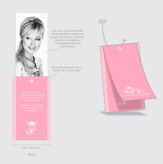 CECI THOMPSON PARIS HILTON PACKAGING