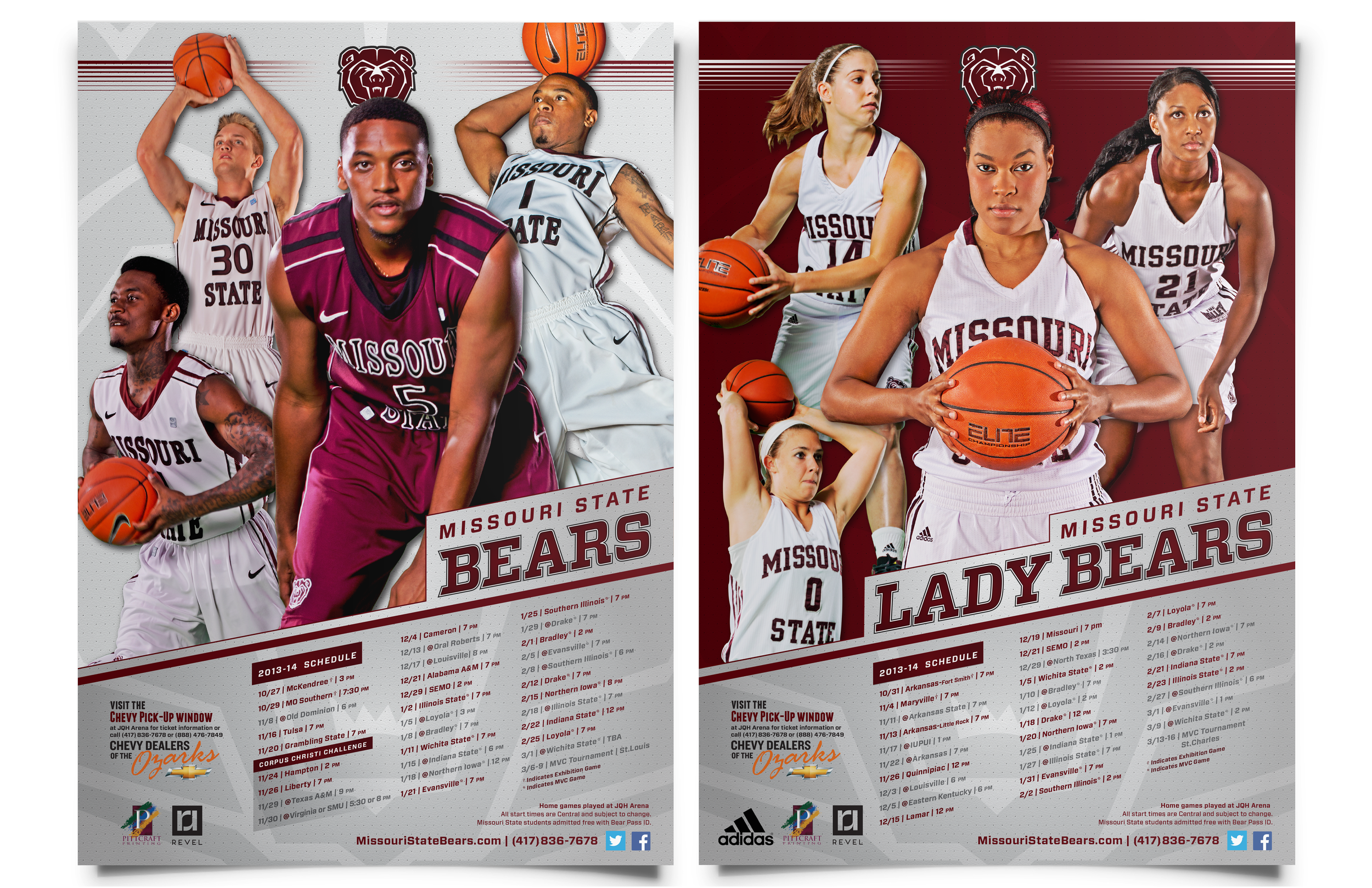 2013-14 Basketball Posters