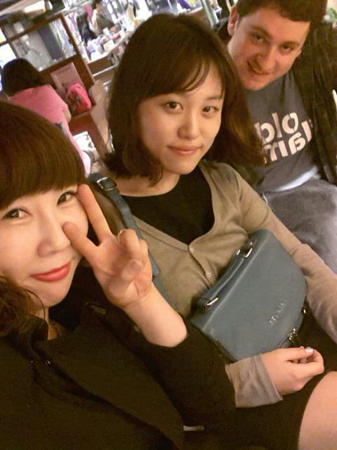 Eunae, Celine, Me out in Shingi