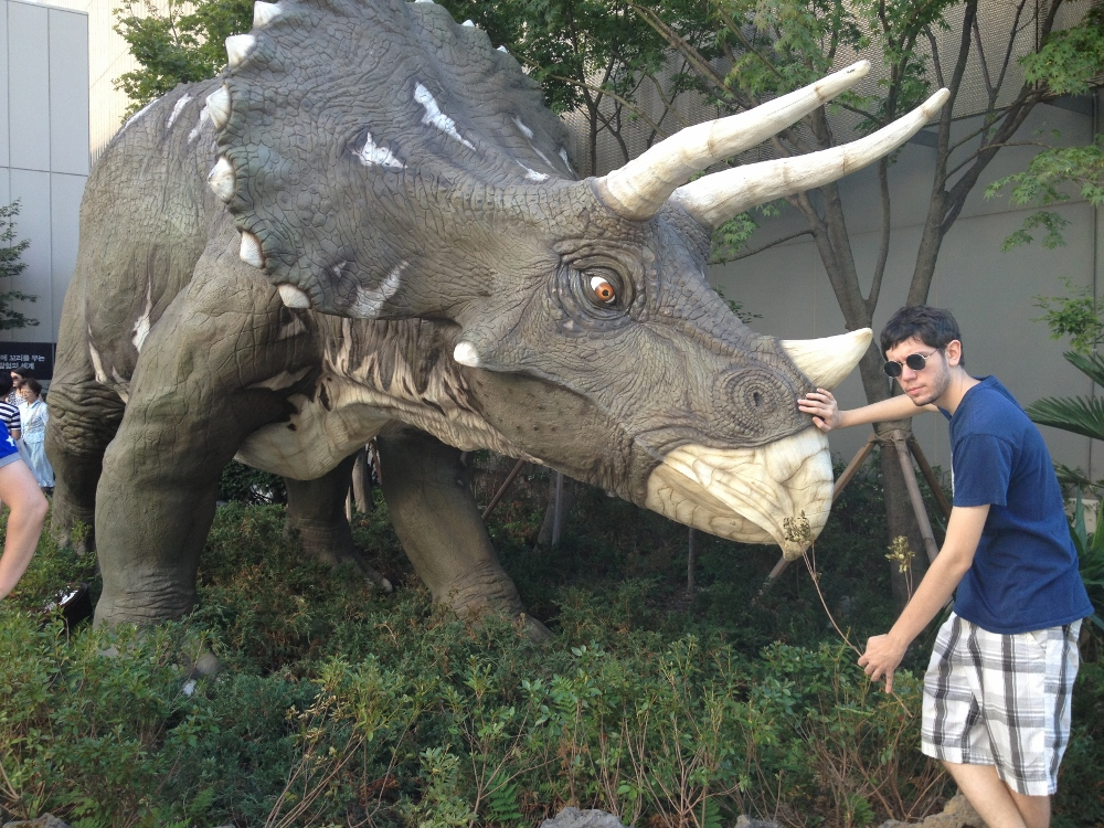 Chase McMullen: Triceratops tamer