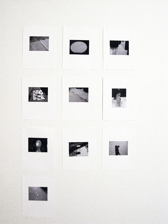 "a hole is a true 4,    2013-14.  A grid of 10 inkjet prints. 50"" x 29.25"" (Each print 11"" x 8.5"")"