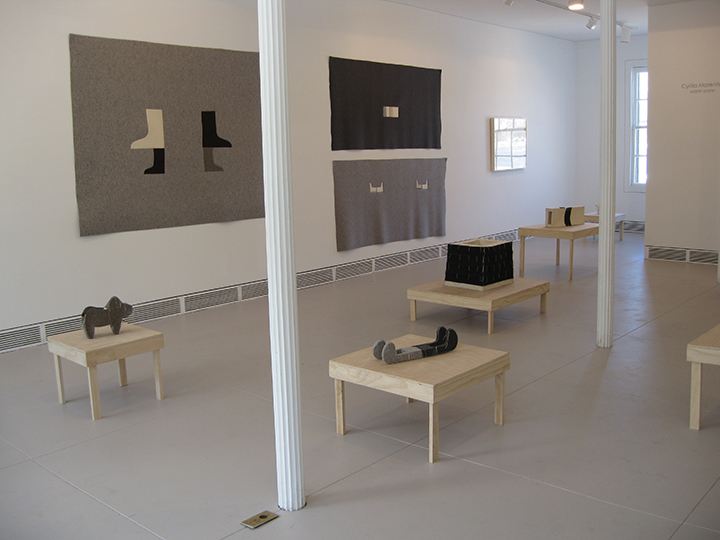 warm snow, Sculpture in Two and Three Dimension , 2014 - Garrison Art Center, Garrison, NY. Installation View 3